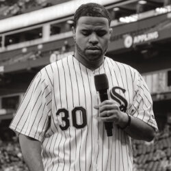 RJ Griffith @ White Sox Game Performing National Anthem